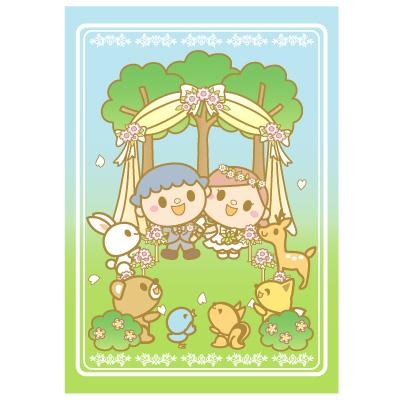 森の動物たち