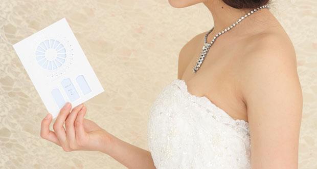 招待状(シャルトル)を持った花嫁